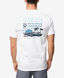 Men's Pleasure Point Logo Graphic T-Shirt