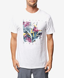 Men's Tropic Noise Logo Graphic T-Shirt