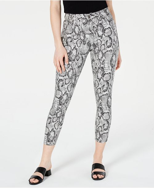 Tinseltown Juniors' Printed Skinny Jeans