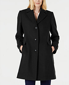 Vince Camuto Single-Breasted Coat, Created for Macys