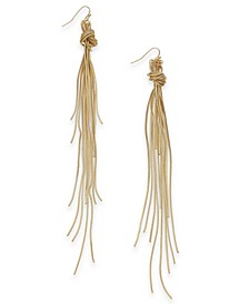Multi-Chain Knotted Linear Drop Earrings, Created for Macy's