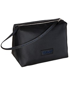 Receive a Complimentary trousse bag with any large spray purchase from the Versace Men's fragrance collection