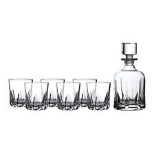 Royal Doulton Mode Whiskey Decanter Set
