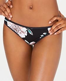 Roxy Juniors' Surfin Love Printed Cheeky Bikini Bottoms