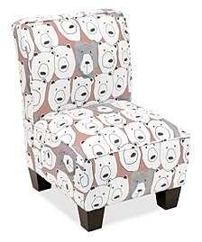 Erin Kid's Slipper Chair, Quick Ship