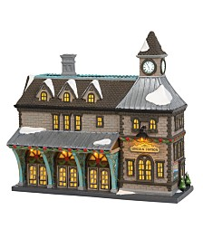 Department 56 Villages Lincoln Station