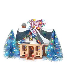 Department 56 Villages Brite Lites Holiday House