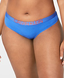 Calvin Klein Women's Plus Size Statement 1981 Thong QF5493