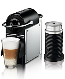 by De'Longhi Pixie Espresso Machine with Aeroccino