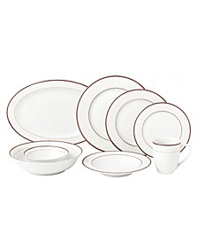 50 Piece New Bone China Dinnerware Set, Service for 8