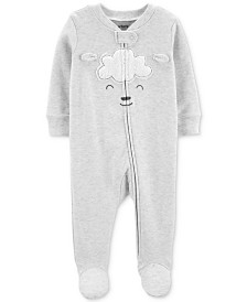 Carter's Baby Boys & Girls Lamb Footed Cotton Coverall