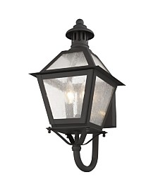 CLOSEOUT! Livex   Waldwick 2-Light Outdoor Wall Lantern