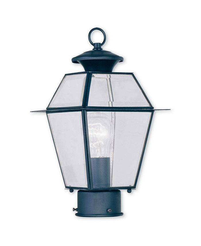 Livex - Westover 1-Light Outdoor Post Lantern