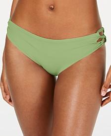 Roxy Juniors' Beach Classics Lace-Up Bikini Bottoms