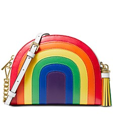 MICHAEL Michael Kors Rainbow Half Moon Crossbody