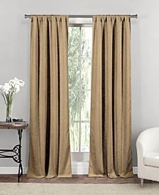 """Rebecca 37"""" x 84"""" Faux Linen Curtain Set"""
