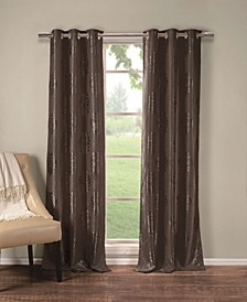 "Hastings 36"" x 84"" Damask Blackout Curtain Set"