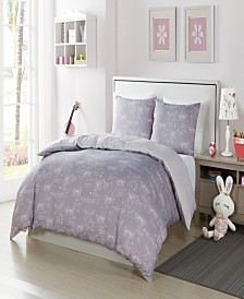 Malar Butterfly 3 Piece Full Comforter Set