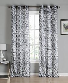 "Neila 38"" x 96"" Printed Curtain Set"