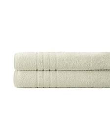 Spa Collection 100% Cotton 2-Pc. Oversized Bath Sheet Set