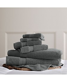 700 Gsm Luxury Spa Collection 6 Pc 100% Cotton Towel Sets