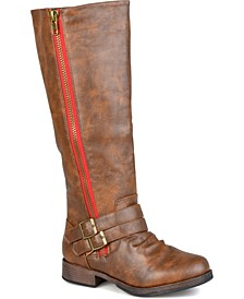 Women's Extra Wide Calf Lady Boot
