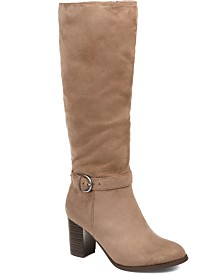 Journee Collection Women's Comfort Extra Wide Calf Joelle Boot