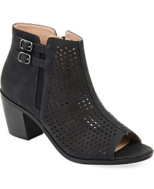 Journee Collection Women's Comfort Harlem Bootie