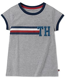 Tommy Hilfiger Big Girls Stripe Ringer T-Shirt