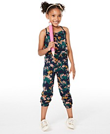 Toddler Girls Tiger-Print Jumpsuit, Created for Macy's