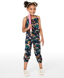 Epic Threads Little Girls Printed Jumpsuit, Created for Macy's