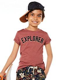 Little Boys Explorer T-Shirt, Created for Macy's