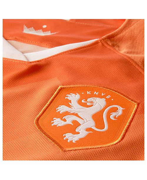 on sale 8c10d c4ab2 Women's Netherlands National Team Women's World Cup Home Stadium Jersey
