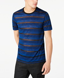 GUESS Men's Nightwatch Sheer Stripe T-Shirt
