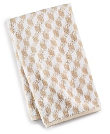 CLOSEOUT! Cube Turkish Cotton Fashion Hand Towel, Created for Macy's