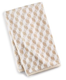 CLOSEOUT! Hotel Collection Cube Turkish Cotton Fashion Hand Towel, Created for Macy's