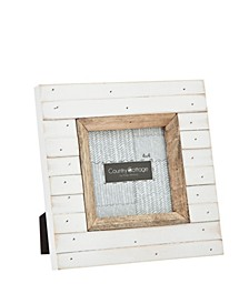 Slatted White Frame - 4x4