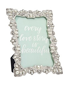 Silver Pearl Frame - 4x6