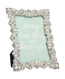 Philip Whitney Silver Pearl Frame - 4x6