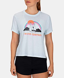 Juniors' Cruise Control Burnout T-Shirt