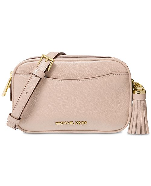Michael Kors Pebble Leather Convertible Crossbody Belt Bag