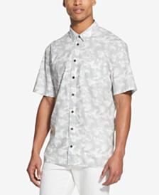 DKNY Men's Camo-Print Shirt
