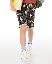 Epic Threads Big Boys Stretch Floral Twill Shorts, Created for Macy's