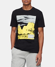 Calvin Klein Jeans Men's California Caspian Logo Graphic T-Shirt