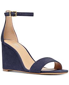 MICHAEL Michael Kors Fiona Wedge Dress Sandals