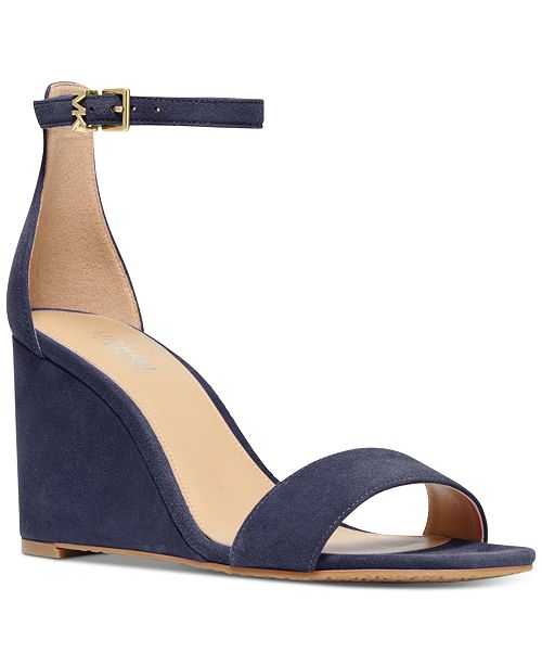 Michael Kors Fiona Wedge Dress Sandals
