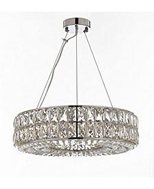 Crystal Nimbus Ring Chandelier Modern/Contemporary Lighting