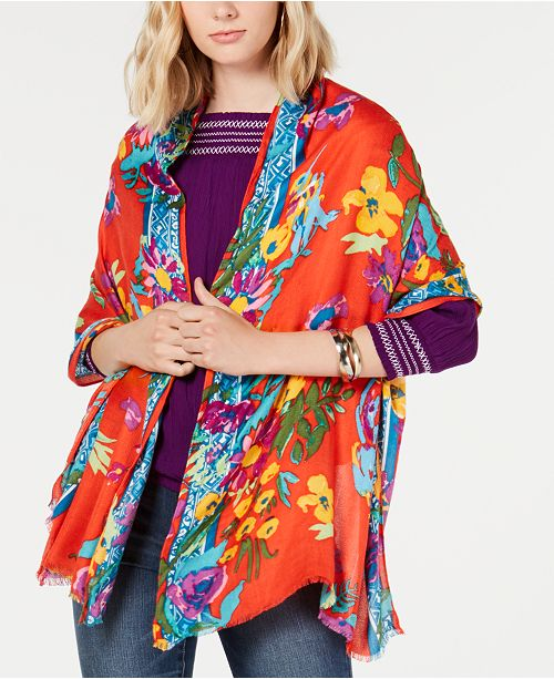 INC International Concepts I.N.C. Rainforest Printed Pashmina, Created for Macy's