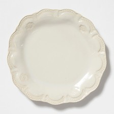 Vietri Incanto Stone Lace Dinner Plate