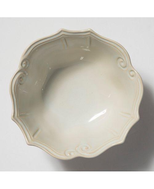 VIETRI Incanto Stone Baroque Medium Serving Bowl